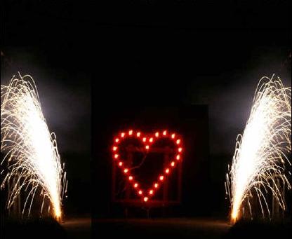 Lichterbilder Feuerwerk